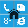 Home8+ like Windows 8 Launcher - دانلود لانچر اندروید ویندوز هشت